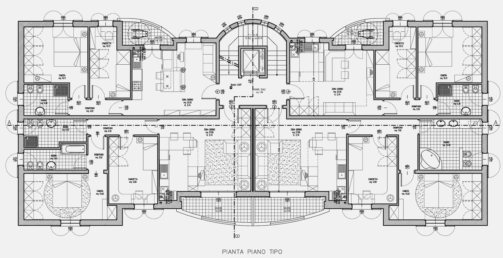 Intervento residenziale cento fe studio abacus for Planimetrie di progettazione architettonica